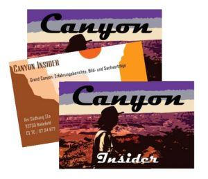 Visitenkarte: Canyon Insider *Grand Canyon Vorträge* Gerrit Helling Bielefeld